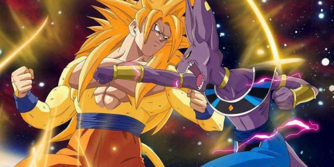 dbz batalla dioses - Dragon Ball Z: La batalla de los Dioses (Dragon Ball Z, Battle of Gods) 2013