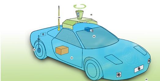 imagen nuevo coche google - El nuevo coche de Google?