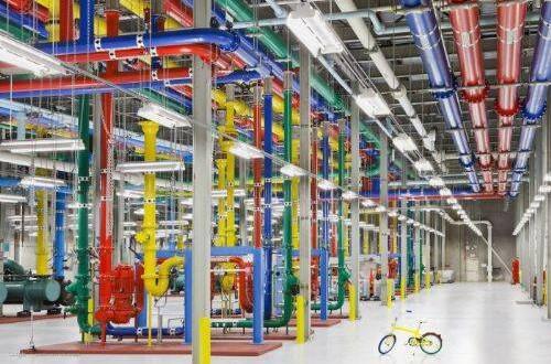 imagen servidores google - Servidores marinos de Google
