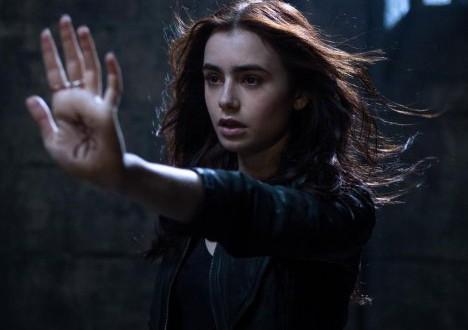 lily collins en cazadores de sombras - Cazadores de Sombras: Ciudad de Huesos (The Mortal Instruments: City of Bones)