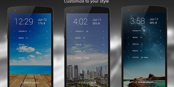 Echo Lockscreen organiza todas tus notificaciones desde la pantalla de desbloqueo de tu Android - Echo Lockscreen: organiza todas tus notificaciones desde la pantalla de desbloqueo de tu Android