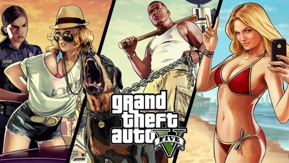 GTA V Portada - GTA V en primera persona para Xbox 360