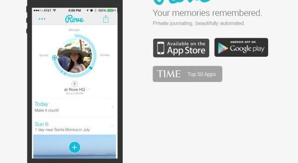 Rove llevar un diario personal en automático desde android - Rove, llevar un diario personal en automático desde android