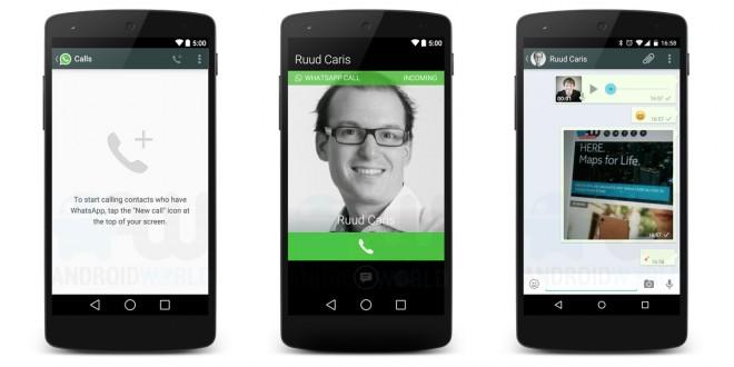 Whatsapp - Ya se pueden hacer llamadas por WhatsApp